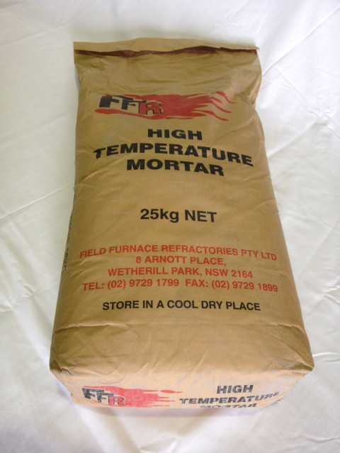 High Temperature Mortar : High temperature mortar htm field furnace