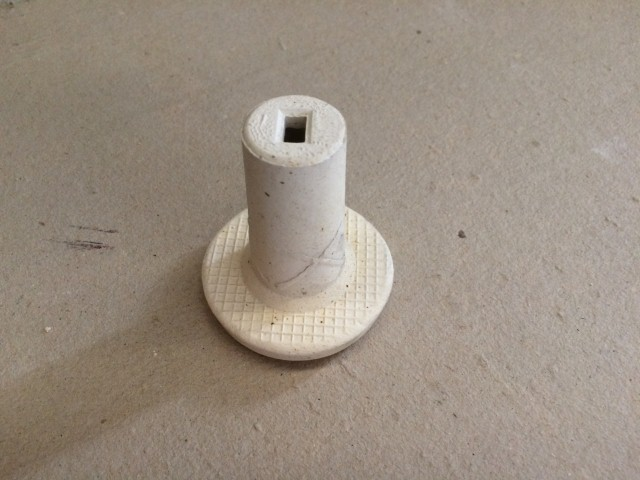 Ceramic Slotted hole Cuplock 50mm